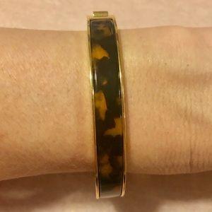 JCrew -Tortoise & Gold Bracelet